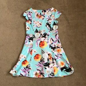 Fit an flare summer dress